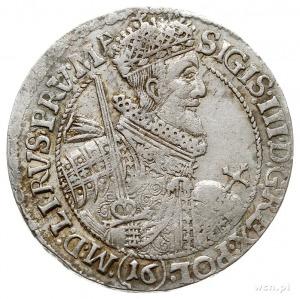 ort 1621, Bydgoszcz, odmiana z 16-tką pod popiersiem kr...