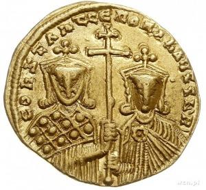Konstantyn VII i Roman II 913-959, solidus 945-959, Kon...