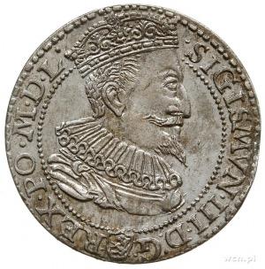 szóstak 1596, Malbork, mała głowa króla, piękny
