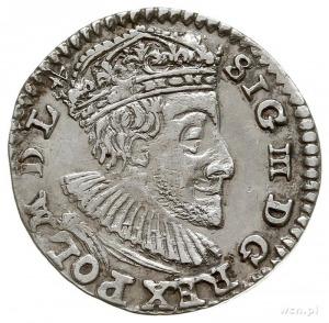 trojak 1591, Olkusz, Iger O.91.- popiersie króla występ...