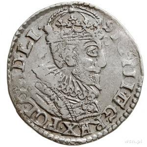 trojak 1593, Olkusz, Iger O.93.2.c (R1), rzadszy typ