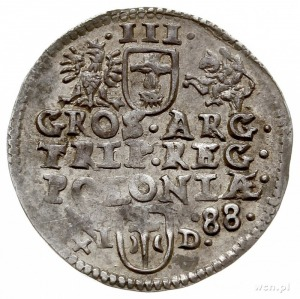 trojak 1588, Poznań, Iger P.88.3.a (R2)