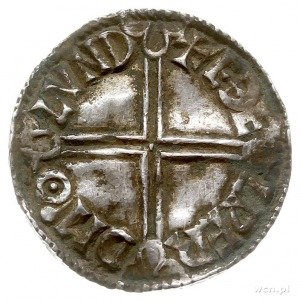 Aethelred II 978-1016, denar typu long cross 997-1003, ...