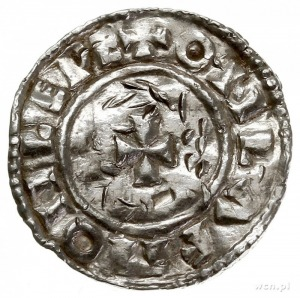 Aethelred II 978-1016, denar typu small cross 1009-1017...