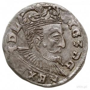 trojak 1597, Lublin, data 9-7 po bokach Orła, Iger L.97...