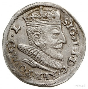 trojak 1591, Wilno, Iger V.93.1.b, ale na awersie rozet...