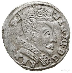 trojak 1599, Wilno, herb Łabędź (Andrzeja Zawiszy -pods...