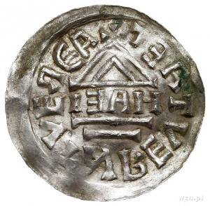 Bolesław Chrobry 1003-1004, denar typu bawarskiego, Pra...