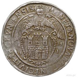 talar 1635, Toruń, Aw: Półpostać króla w prawo i napis ...