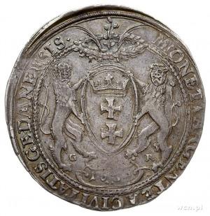 talar 1639, Gdańsk, Aw: Popiersie w prawo i napis wokoł...