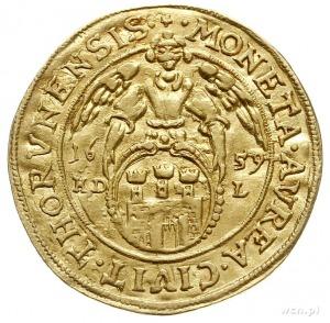 dukat 1659, Toruń, Aw: Popiersie króla w prawo i napis ...