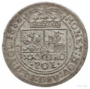 tymf (złotówka) 1666, Bydgoszcz, typ monety rzadko spot...