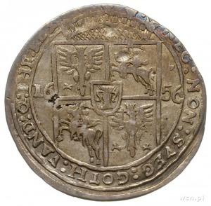 ort 1656, Lwów, odmiana z małym popiersiem króla, T. 4,...