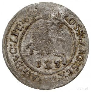 szóstak 1652, Wilno, Aw: Popiersie króla w prawo i napi...