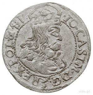 fałszerstwo z epoki szóstaka koronnego 1661/TLB, srebro...