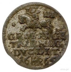 trojak 1665, Wilno, odmiana z cyfrą III za Pogonią, Ige...