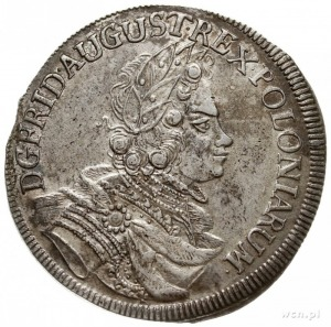 2/3 talara (gulden) 1699, Lipsk, litery EP - H (inicjał...