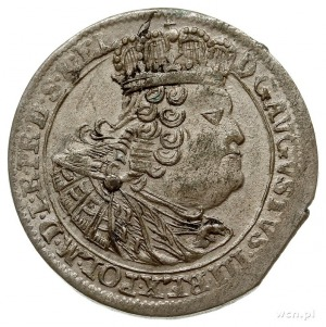 szóstak 1760, Gdańsk, Kahnt 728.b, patyna, bardzo ładny