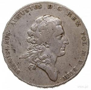talar 1775, Warszawa, odmiana napisu LITH, srebro 27,76...