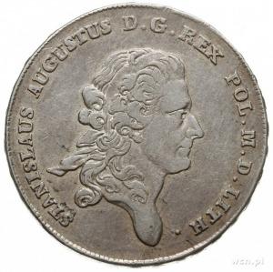 talar 1777, Warszawa, odmiana napisu LITH, srebro 27.93...