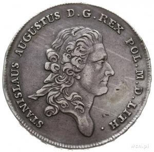 talar 1777, Warszawa, odmiana napisu LITH, srebro 27.78...