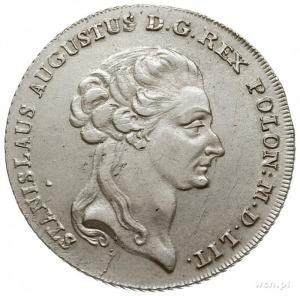 talar 6 złotowy 1794, Warszawa, odmiana dłuższa gałązka...