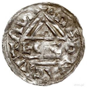 Henryk II 985-995 - 2. panowanie, denar 985-995, Ratyzb...