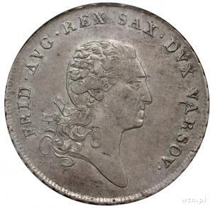 talar 1811, Warszawa, Plage 114, Dav. 247, moneta w pud...