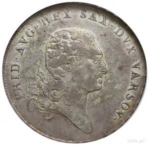 talar 1812, Warszawa, Plage 115, Dav. 247, moneta w pud...