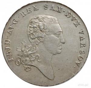 talar 1814, Warszawa, Plage 116, Dav. 247, moneta w pud...