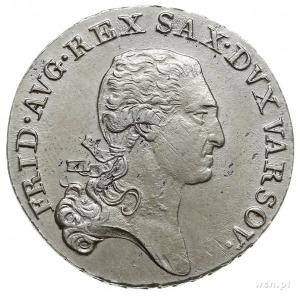 1/3 talara (dwuzłotówka) 1814, Warszawa, Plage 113, usz...