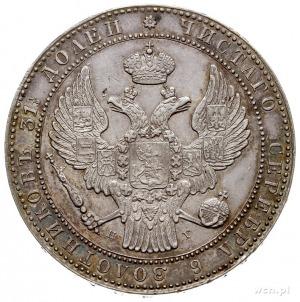 1 1/2 rubla = 10 złotych 1836, Petersburg, Plage 326 -p...
