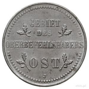 2 kopiejki 1916 J, Hamburg, Parchimowicz 2.b, piękne