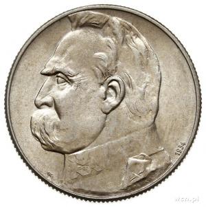 5 złotych 1934, Warszawa, Józef Piłsudski - Orzeł Strze...