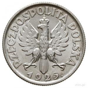 1 złoty 1925, Londyn, Parchimowicz, 107.b, piękne