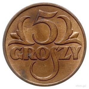 5 groszy 1931, Warszawa, Parchimowicz 103.e, piękne, w ...