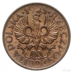 2 grosze 1925, Warszawa, Parchimowicz 102.b, piękne, w ...