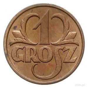 1 grosz 1930, Warszawa, Parchimowicz 101.e, wyśmienite,...