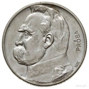 """5 złotych 1934, Warszawa, Józef Piłsudski, """"Orzeł Strze..."""