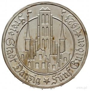 5 guldenów 1923, Utrecht, Kościół Marii Panny, Parchimo...