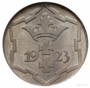 10 fenigów 1923, Berlin, Parchimowicz 57.a, moneta w pu...
