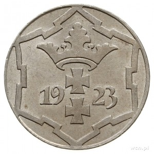 10 fenigów 1923, Berlin, Parchimowicz 57.a, piękne