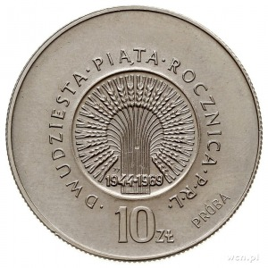 10 złotych 1969, Warszawa, DWUDZIESTAPIĄTAROCZNICAPR...