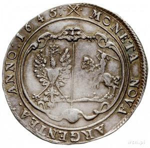Jakub Kettler 1642-1681, talar 1645, Mitawa, Aw: Popier...