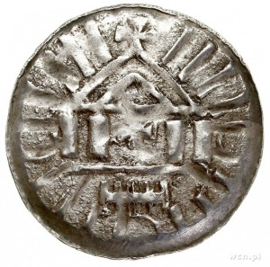 Otto I - Otto III 955-1002, denar krzyżowy X w., Magdeb...