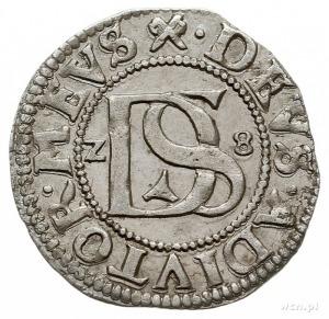 podwójny szeląg 1628, Szczecin, Hildisch 366, piękny