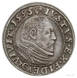 grosz 1595, Królewiec, Bahr. 1304, Neumann 58, rzadki, ...