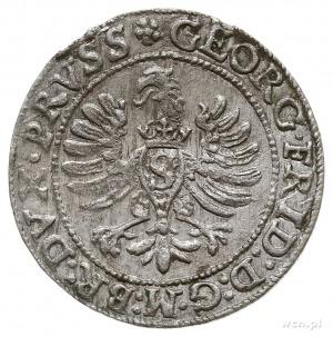 grosz 1595, Królewiec, Bahr. 1304, Neumann 58, rzadki i...
