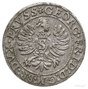 grosz 1596, Królewiec, Bahr. 1308, Neumann 58, rzadki i...