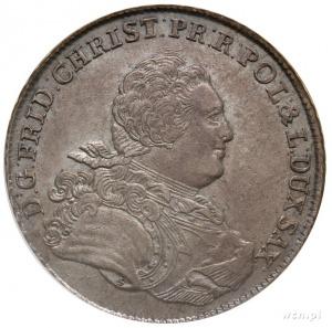 Fryderyk Krystian 1763, talar 1763, Drezno, Aw: Popiers...